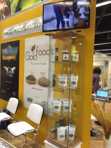Goldfoods in Biofach 2015