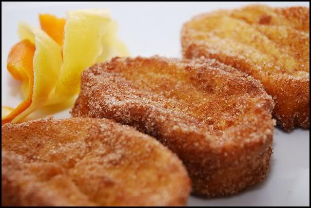 Typical Hispanic Easter Dessert: Torrijas