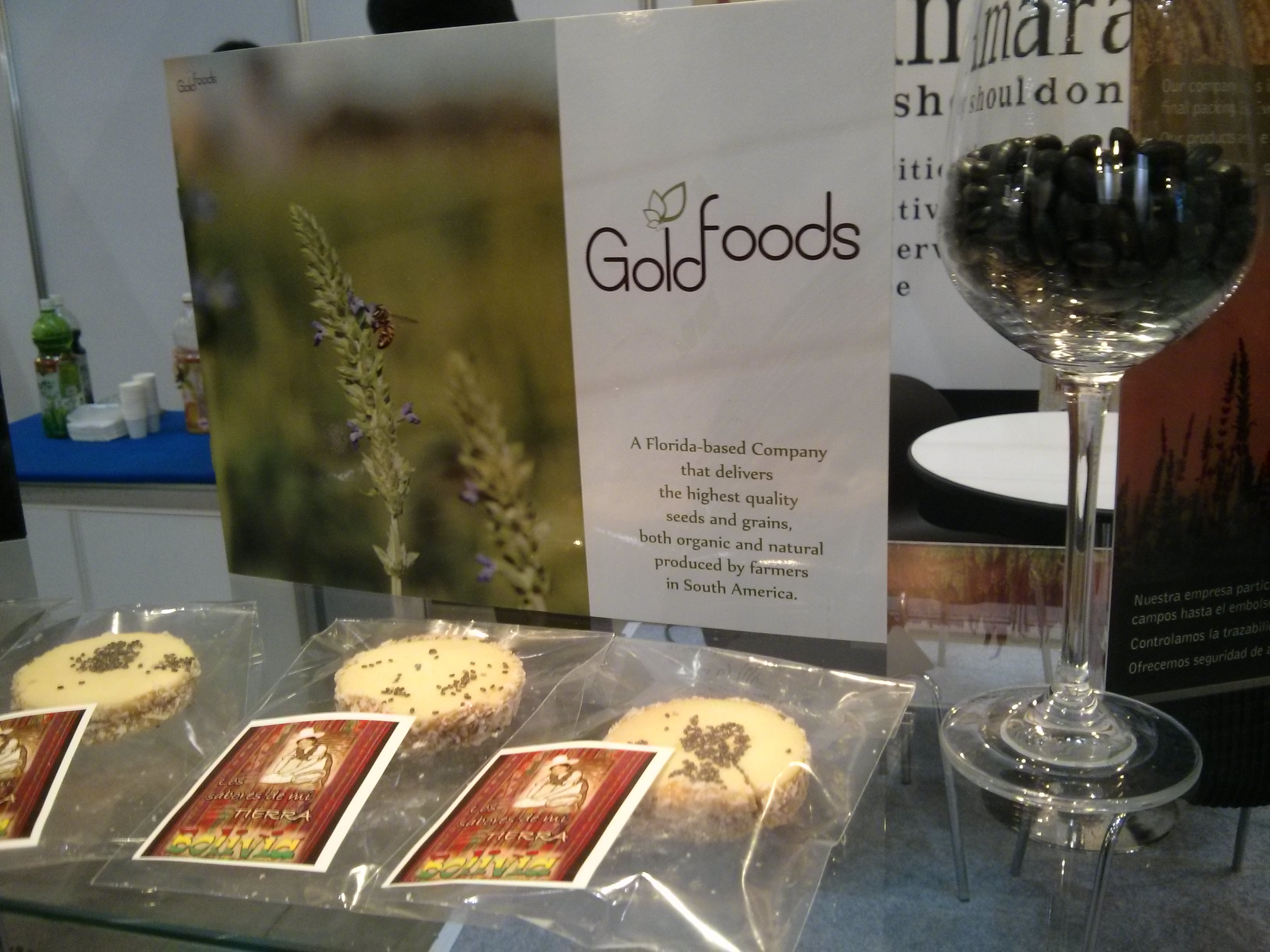 Goldfoods in Seoul Food Fair 2015