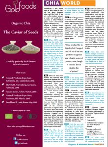 Organic Wellness spoke with Juan Pablo Altamirano about Chia Market