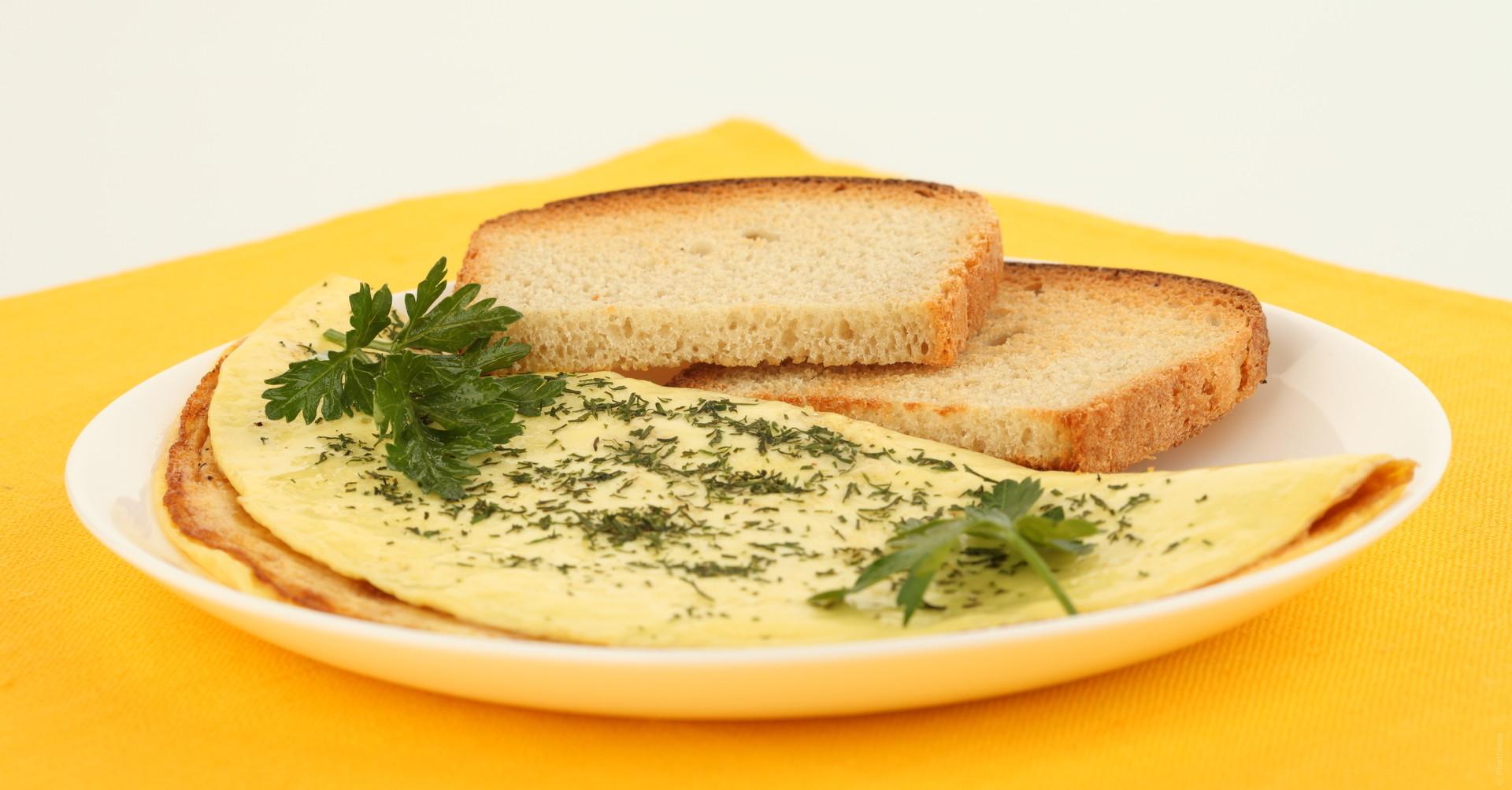 Chia omelette